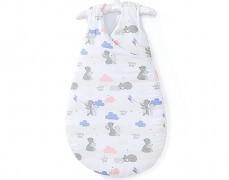 Dětský spací pytel růžovo-modrá Mama Bear