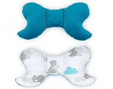 Stabilizační polštářek mint Mama Bear s tyrkysovou
