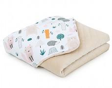 Dětská deka barevný lesík s béžovou, LETNÍ
