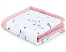 Dětská deka kolibříci velvet 75x100