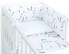 Souprava do postýlky 3dílná kolibříci