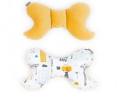 Stabilizační polštářek žlutý město