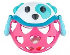 Interaktivní míček růžový pejsek