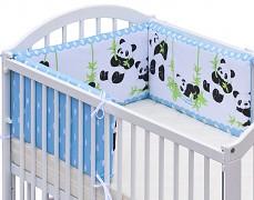 Mantinel modrá panda