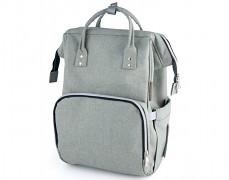 Přebalovací taška šedá Lady Mum