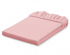 Jersey růžové prostěradlo