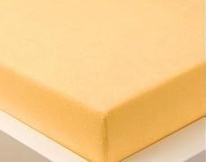 Froté prostěradlo oranžové 120x60