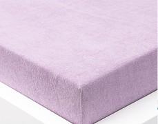 Froté prostěradlo fialové 120x60