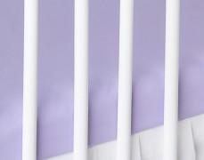 Bavlněné prostěradlo fialové