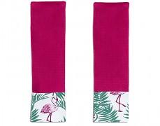 Chrániče na pásy flamingo