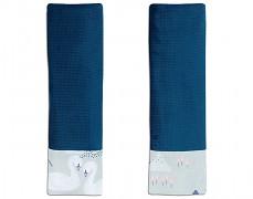 Chrániče na pásy šedo-modré labutě