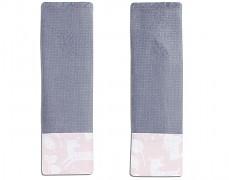 Chrániče na pásy růžový les s šedou