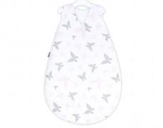 Dětský spací pytel růžová motýlci