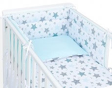 Mantinel modrá starmix 120x60