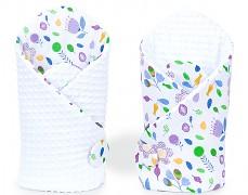 Zavinovačka fialové květy, oboustranná
