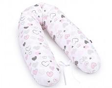 Relaxační polštář pink heart