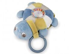 Plyšová svítící a hrající želva modrá SEA TURTLE