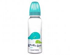 Lahev tyrkysová Love&Sea 250ml
