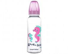 Lahev růžová Love&Sea 250ml