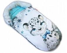 Fusak modrý gepard s kožešinkou