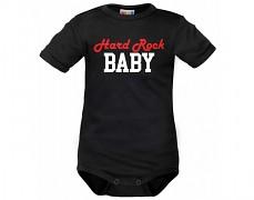 Body černé Hard Rock Baby kr.rukáv