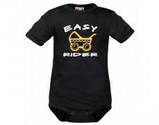 Body černé Easy Rider kr.rukáv