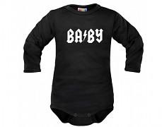 Body černé BABY dl.rukáv