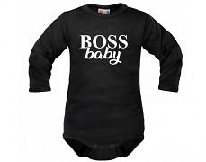 Body černé BABY BOSS dl.rukáv