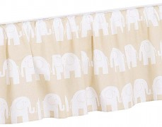 Volánek pod matraci béžový slon