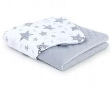 Dětská deka šedá starmix velvet, LETNÍ