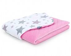 Dětská deka růžová starmix velvet