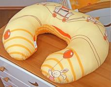 Kojící polštář oranžová kamarádi