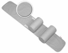 Polohovací válečky šedo-bílé puntíky