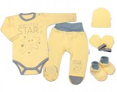 Soupravička žlutá Baby Star