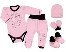 Soupravička růžová Baby Star