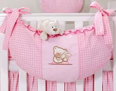 Vak na hračky růžový TULITULI