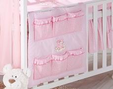 Kapsář růžový obláček kostička
