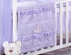 Kapsář fialový obláček kostička