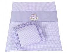 Set fialový obláček kostička