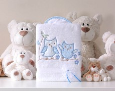 Dečka bílo-modré sovky POLAR LUX