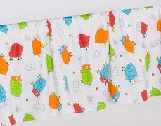 Volánek pod matraci barevné ovečky