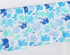 Volánek pod matraci modří sloníci