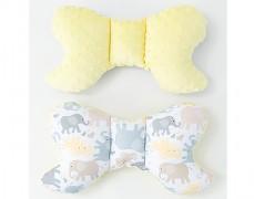 Stabilizační polštářek béžová sloníci
