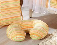 Kojící polštář oranžové proužky
