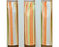 Volánek pod matraci oranžové proužky