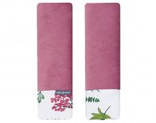 Chrániče na pásy růžový kapradina