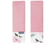 Chrániče na pásy vlčí máky s růžovou