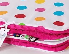 Set barevné puntíky