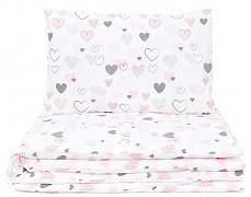 Dětské povlečení pink heart