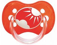 Dudlík červený NATURE silikonový